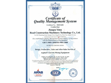ISO Quality System Certification 02